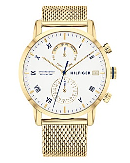 Tommy Hilfiger Mens Kane Mesh Strap Watch