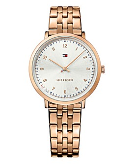 Tommy Hilfiger Ladies Rose Gold Watch