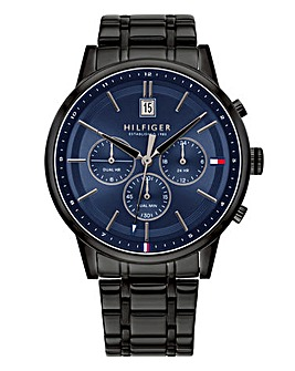 Tommy Hilfiger Black Bracelet Watch