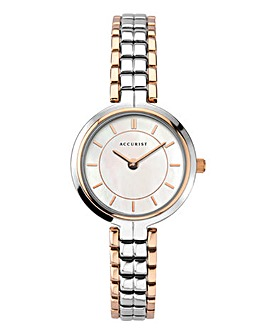 Accurist Ladies Silver Bracelet Watch