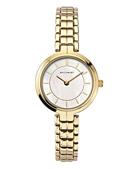Accurist Ladies Gold Bracelet Watch