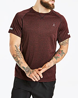 CAPSULE ACTIVE POLY MARL TEE