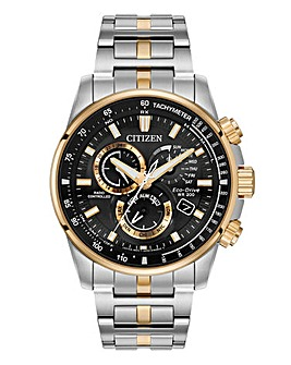 Citizen Gents Two Tone Chrono Watch