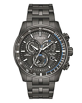 Citizen Gents Black Chrono Watch