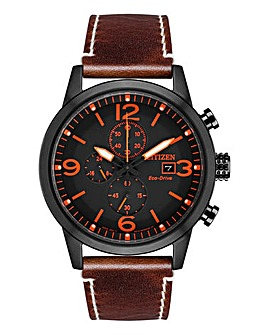 Citizen Gents Military Chrono Watch