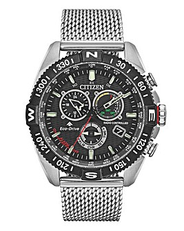 Citizen Gents Navihawk Chrono Mesh Watch
