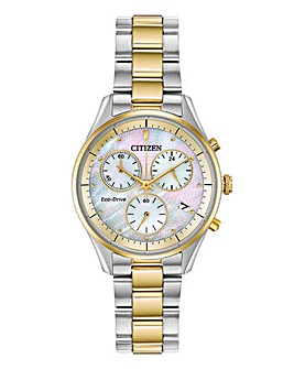 Citizen Ladies Chrono Two Tone Watch