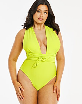 Twist Front Multiway Shaping Swimsuit