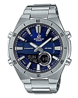 Edifice Blue Dial Bracelet Watch