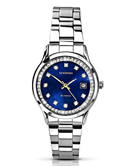 Sekonda Ladies Blue Dial Watch