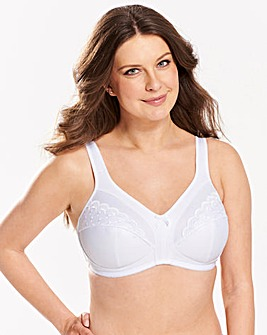 2 Pack Sally Minimiser White/White Bras