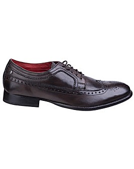 Base London Bailey Burnished Wing Tip