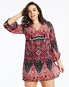 Together Modern Aztec Kaftan