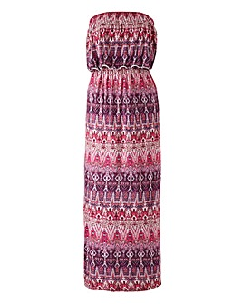 Together Modern Aztec Print Maxi Dress
