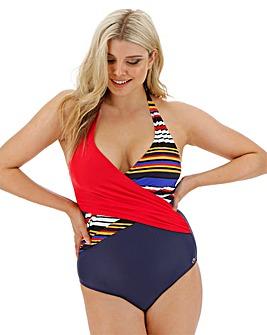 Joanna Hope Wrap Swimsuit