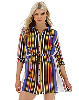 Joanna Hope Shirt Beach Dress