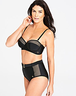 Joanna Hope Mesh Multiway Bikini Top