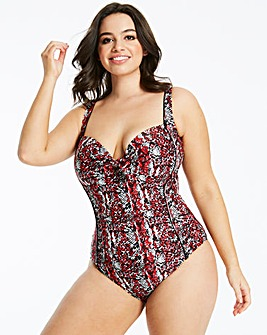 Non Wired Padded Classic Swimsuit