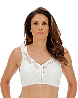 Miss Mary Cotton Lace F/Fastening Bra