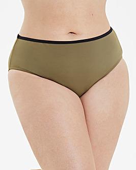 Khaki Bikini Bottoms