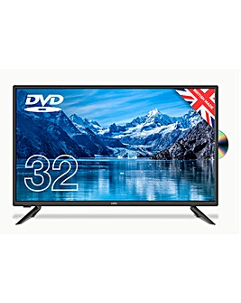 "Cello C3220F 32"" HD TV with DVD"