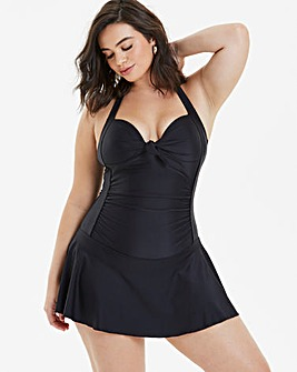 Black Padded Swimdress