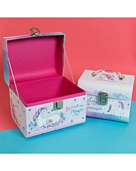 Unicorn Magic Set of 2 Carry Cases