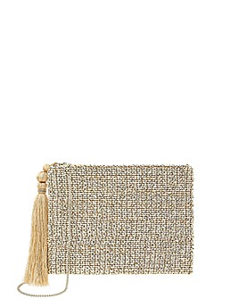Monsoon Brielle Beaded Bridal Clutch