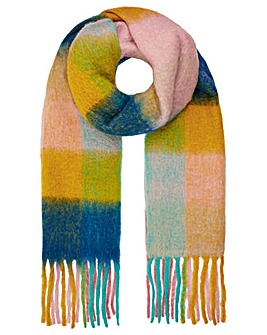 Monsoon Caprice Colour Block Check Scarf