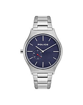 Gents Police Round Dial Bracelet Watch