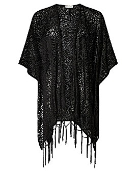 Monsoon Panama Party Devore Cover Up