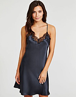 Figleaves Lana Silk and Lace Chemise