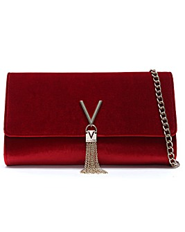 Mario Valentino Marilyn Velvet Clutch