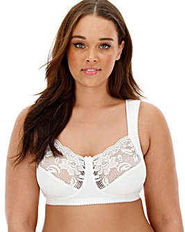 Miss Mary Lovely Lace Non Wired White Bra