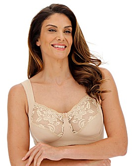 Miss Mary Lovely Lace Non Wired Skintone Bra