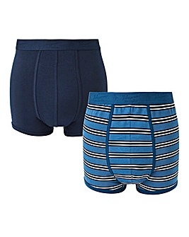 Original Penguin Pack of 2 Stripe Boxers