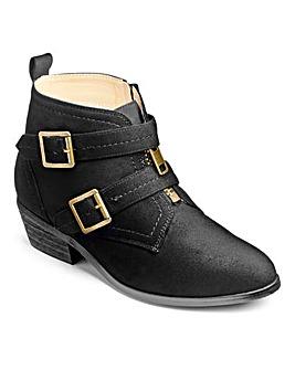 Sole Diva Zip Front Boots E Fit