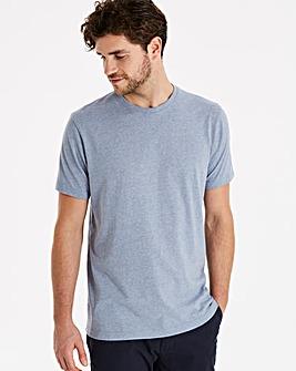 Capsule Blue Marl Crew Neck T-shirt R