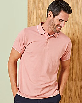 Capsule Dusky Pink Tipped Polo R