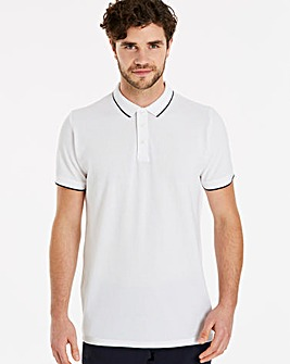 Capsule Short Sleeve White Tipped Polo L