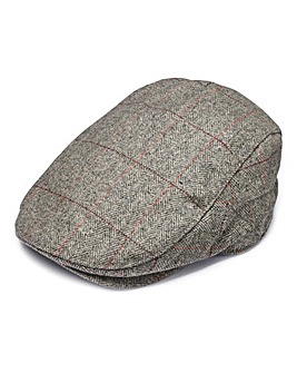 Capsule Light Grey Flat Cap