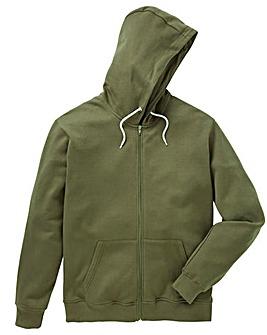 Capsule Khaki Full Zip Hoody L