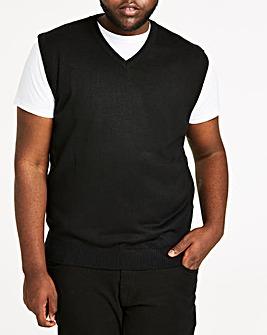 Black V-Neck Slipover