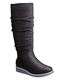 Gumtree Ruched Boot E Fit