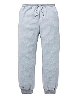 Capsule Grey Fleece Cuffed Loungepants