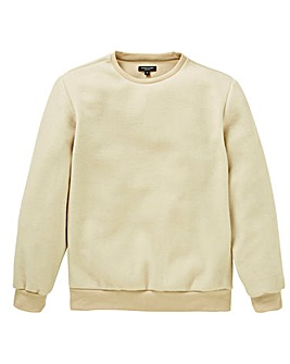 Capsule Stone Fleece Crew Neck Jumper