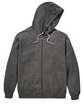 Capsule Charcoal Full Zip Hoody R