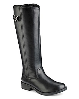 Sole Diva Extra Curvy Plus Calf Riding Boots Extra Wide EEE Fit