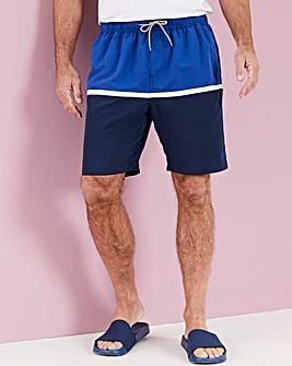 Colour Block Swimshorts