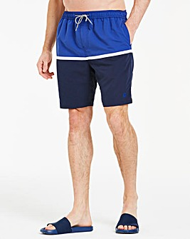 Colour Block Swimshorts